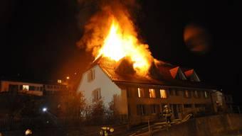 Brand in Mehrfamilienhaus in Niedergösgen endet glimpflich