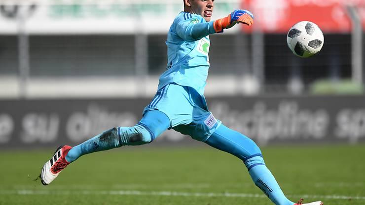 Lausanne-Sport und Torhüter Thomas Castella droht der Abstieg in die Challenge League