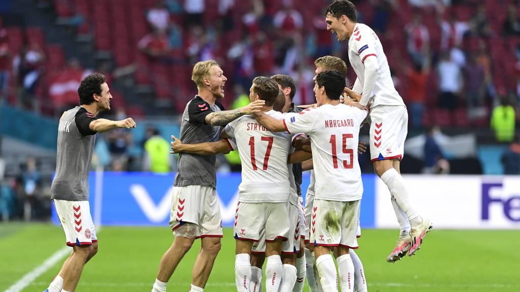 Dänemark steht nach 4:0-Sieg im Viertelfinale