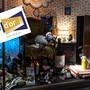 Das Schaufenster der «Sattlerei» mit dem bekannten Schaf: Der Wettbewerb «Vitrine d'or» wartet auf Ihre Stimme!