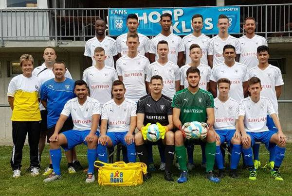 Teamfoto FC Klus/Balsthal