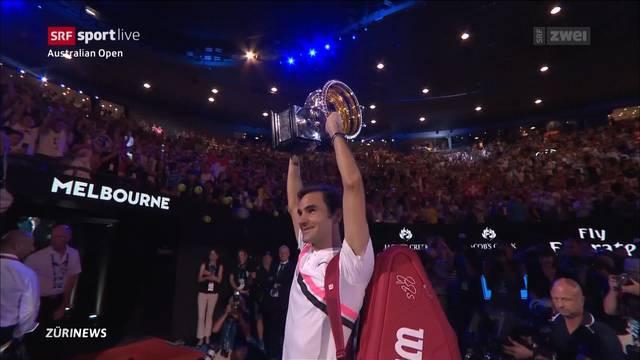 Tennis-Fans feiern King Roger