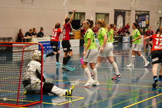 Im Viertelfinale des Schweizer Cups, dominierten die Baslerinnen. Das Nati A-Team aus Laupen sicherte sich erst in den letzten acht Spielminuten den Sieg.