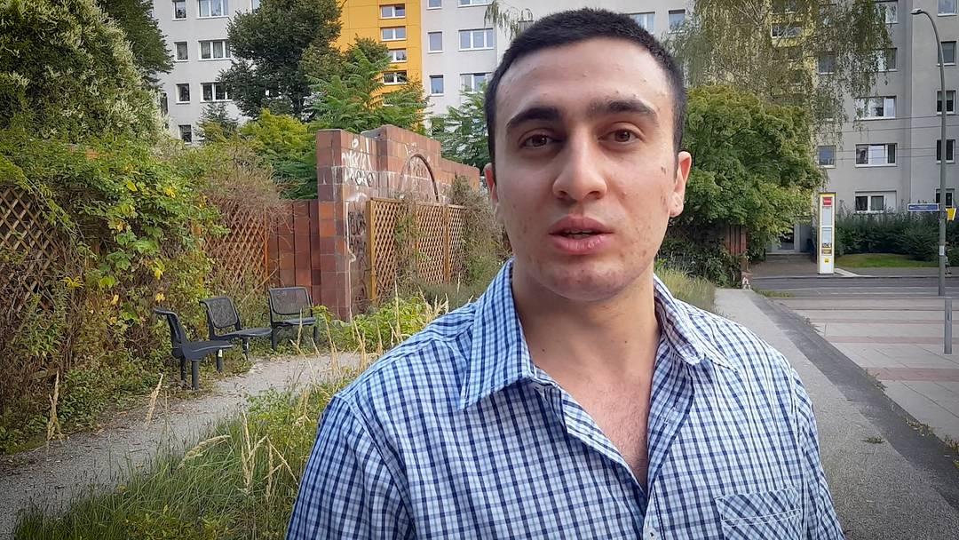 Anas Modamani: «Ich will nicht aufgeben»