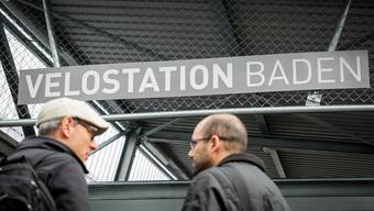 Die Velostation in Baden