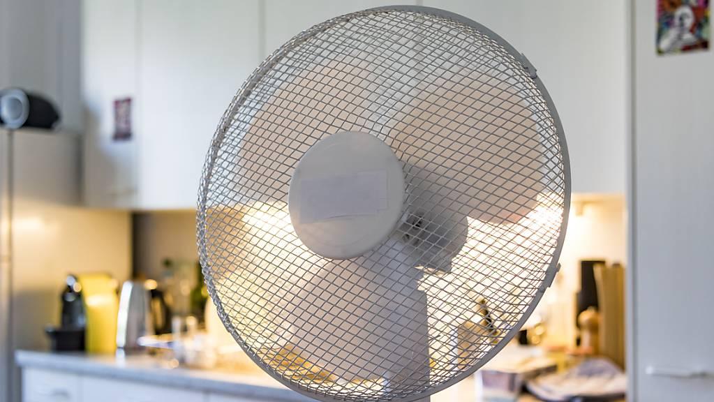 Die Verkäufe von Ventilatoren und Klimageräte sind dank heissen Sommertagen stark angestiegen.