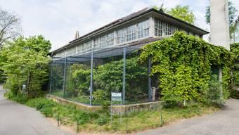 Neues Vogelhaus Zoo Basel