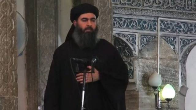 IS-Chef Abu Bakr Al-Baghdadi (Archiv)