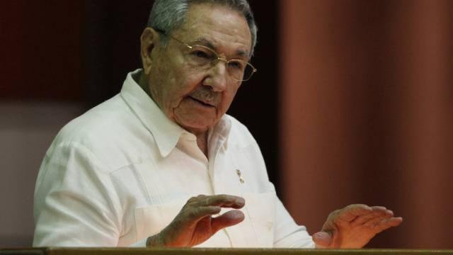 Enttäuscht: Kubas Präsident Raul Castro in Havana