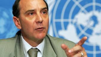 UNO-Vertreter Rawley fordert Aufhebung der Blockade (Archiv)