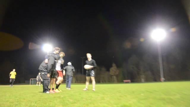 Die Hausen Baboons beim Rugby-Training