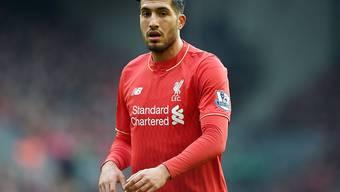 Emre Can läuft in dieser Saison nicht mehr für Liverpool auf