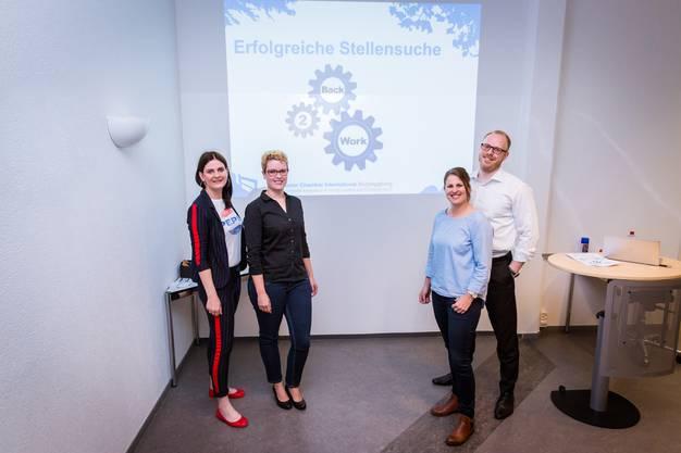 Elisabeth Nadenbousch, Martina Häberle, Heidi Bärtschi, Stefan Winterberger