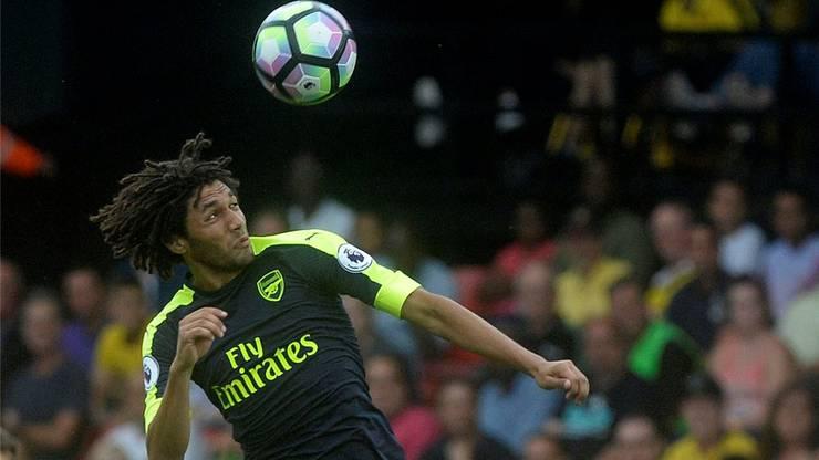Wiedersehen: Mohamed Elneny verdient bei Arsenal viel Geld, seine sportlichen Perspektiven sind weniger gut.