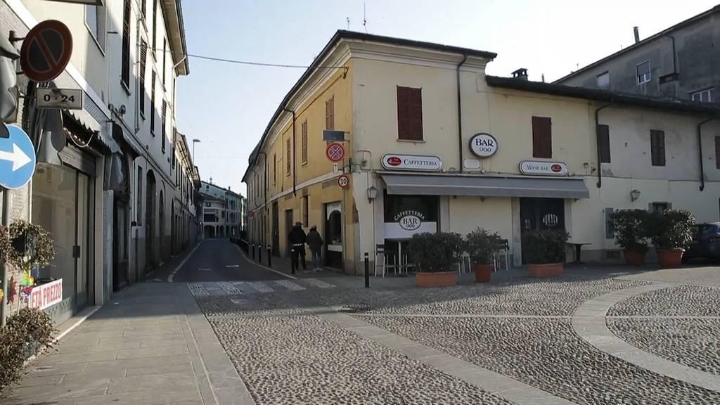 Corona-Virus: Menschenleere Strassen in Italien