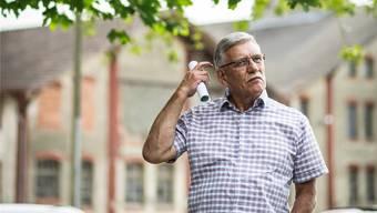 Ist nachdenklich: Fredy Gut (69, FDP).