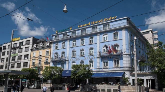 Das Hotel Euler ist ein Haus mit bewegter Geschichte. Und das Stiefkind der Basler Hotellerieszene. Foto: Kenneth Nars