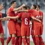 Haben in der Kampagne viel zu jubeln: Die Schweizer U21-Equipe.