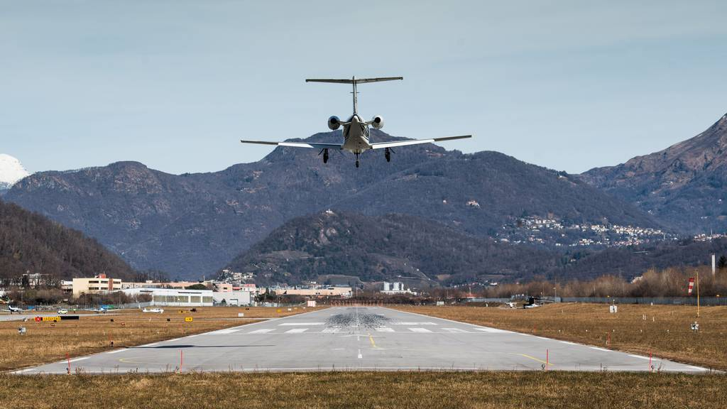 Betreibergesellschaft von Airport Lugano wirft das Handtuch