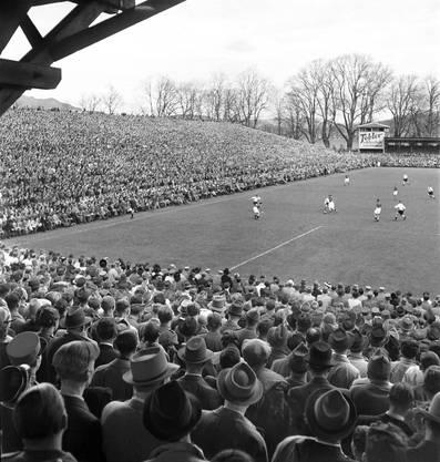 Rund 38'000 Zuschauerinnen und Zuschauer waren an diesem 20. April 1941 im Wankdorf dabei.