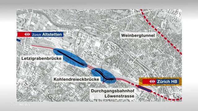 SBB-Testfahrt über die längste Bahnbrücke der Schweiz