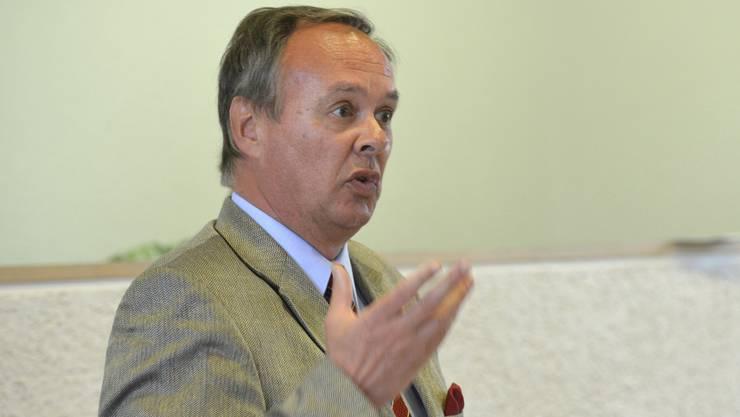Hanspeter Weibel, GPK-Präsident: «Der Lohn des Landschreibers liegt nahe bei dem eines Regierungsrats. Da bestehen gewisse Erwartungen.»