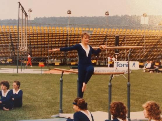 Turnfest um 1980.