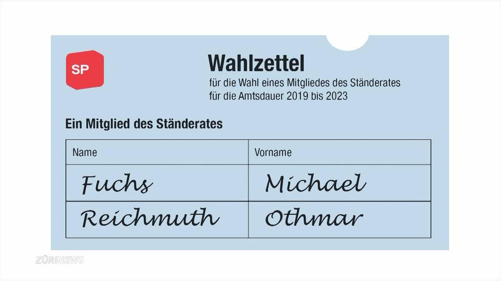 Ständeratswahl Schwyz: FDP wütend wegen SP-CVP-Wahlpäckli