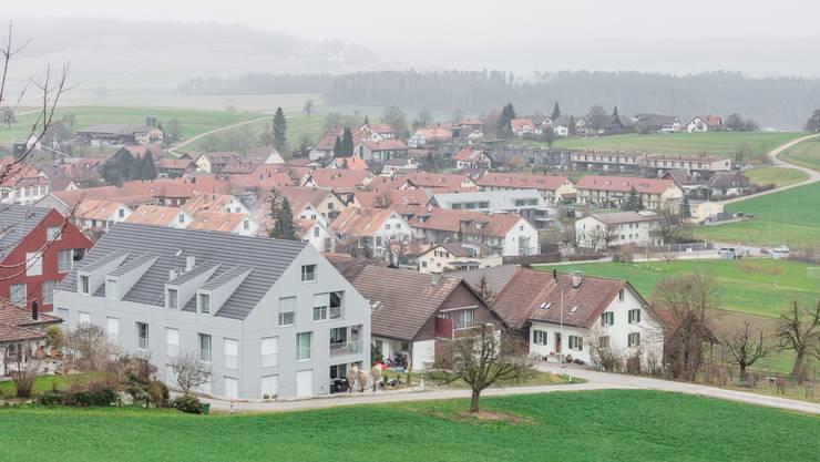 Das beschauliche Freienwil (Bild vom 12. Januar 2018).