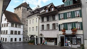 Die Altstadt in Brugg.