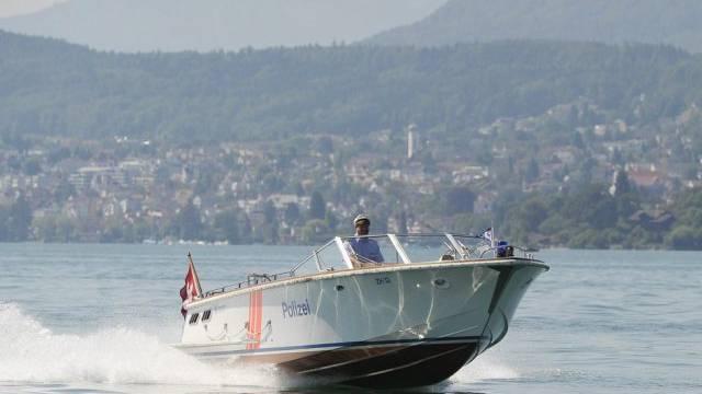 Manchmal muss die Zürcher Seepolizei auch Rehe retten