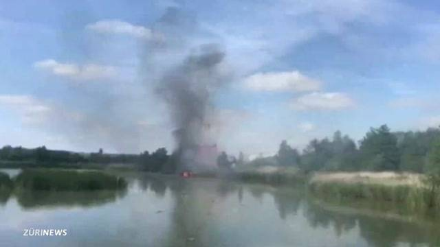 Patrouille Suisse-Flieger abgestürzt