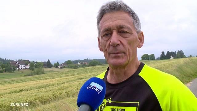 Rentner am 100-km-Lauf