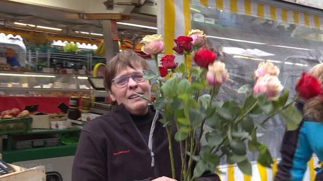 Letzter Arbeitstag für Berner Marktfrau