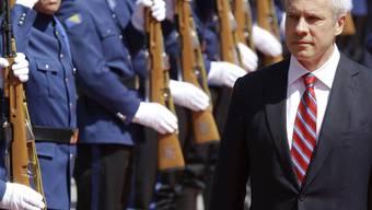Der serbische Präsident Boris Tadic (Archiv)