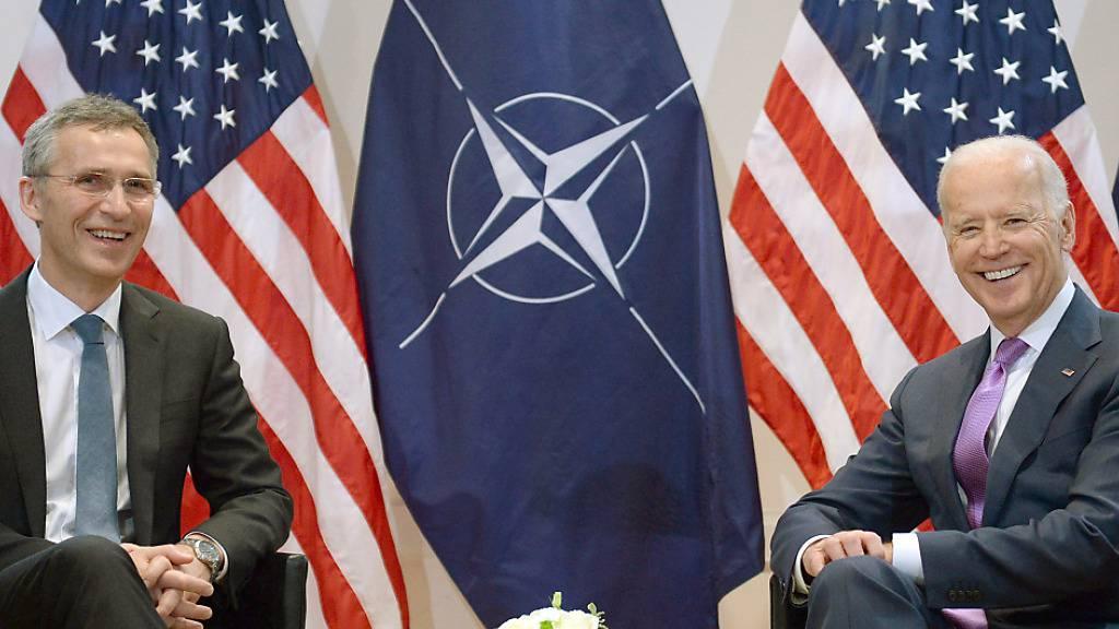 Nato sieht in Amtseinführung von Biden Beginn eines neues Kapitels