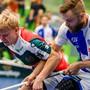 Der neue SVWE-Topskorer Joonas Pylsy trifft auf seinen Vorgänger Daniel Johnsson, der nun bei GC skort.