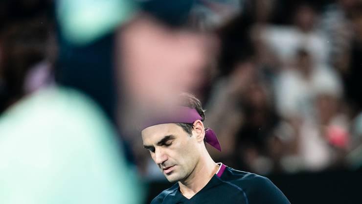 Roger Federers äussert nach dem Aus in Melbourne leise Selbstkritik.
