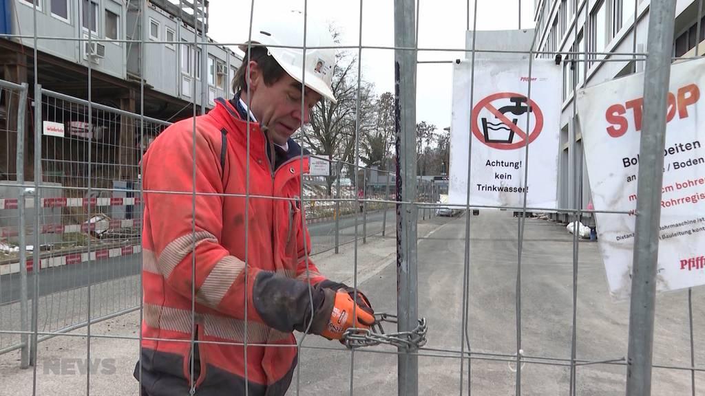 Arbeiten trotz eisiger Kälte: Marktfahrer und Büezer müssen sich besonders warm anziehen