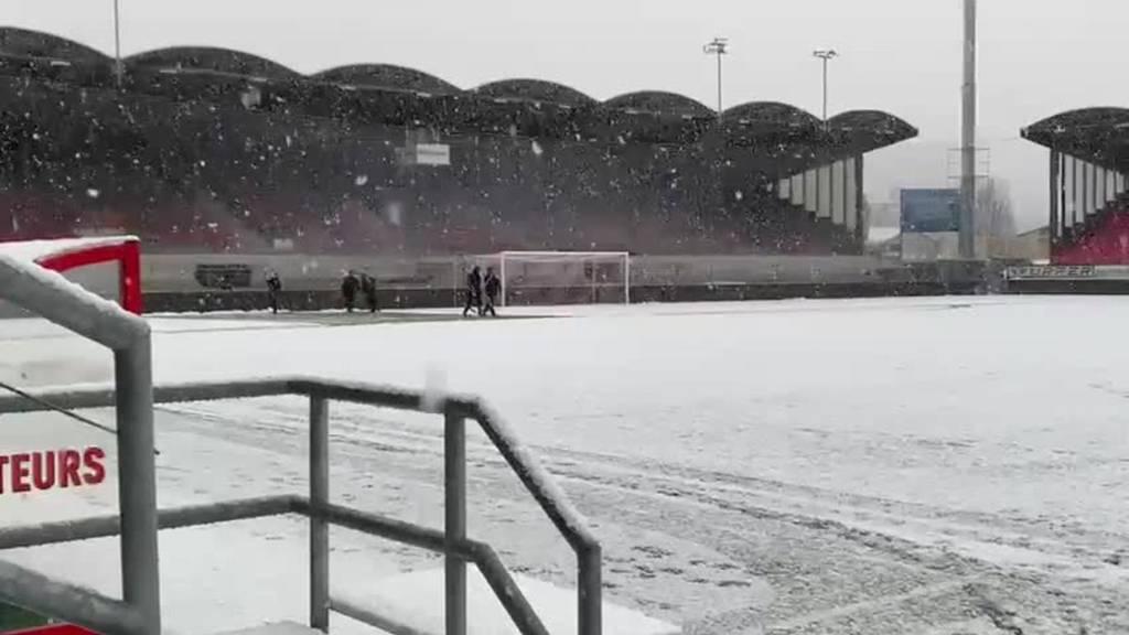 Match Sion:Luzern wird um 30 Minuten verschoben