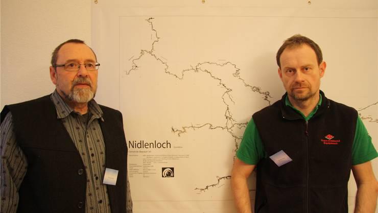 Thomas Arbenz und Tom Hermann sind eigentliche «Höhlenmenschen».
