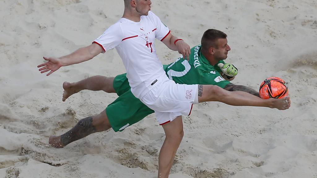 Glenn Hodel glänzt gegen Belarus las zweifacher Torschütze
