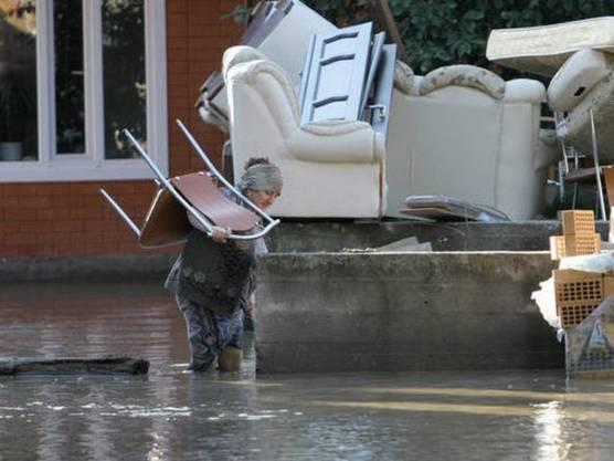 Die Überschwemmungen in Russland haben über 70 Menschen in den Tod gerissen (Archiv)