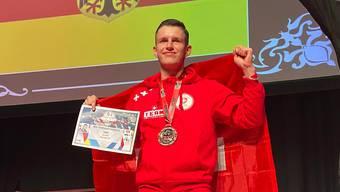 Grenchner wird Kampfsport-Vize-Weltmeister