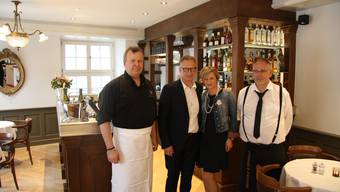 Eröffnung der Brasserie Fédérale Solothurn