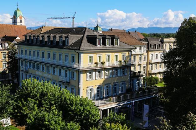 Rheinfelden, 25. Februar: Der «Schützen» wird derzeit umgebaut. Im April eröffnet das Restaurant wieder, nächstes Jahr auch das Hotel.