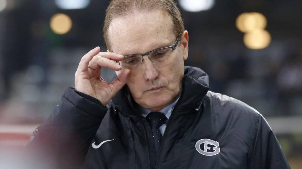 Fribourgs Trainer Larry Huras schonte seine Leistungsträger