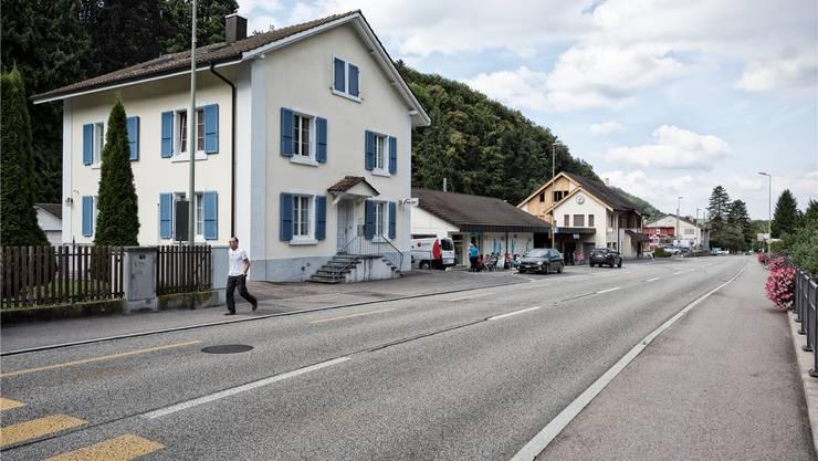 Bleibt «bis auf Weiteres» offen: Der Polizeiposten im Städtchen Waldenburg.