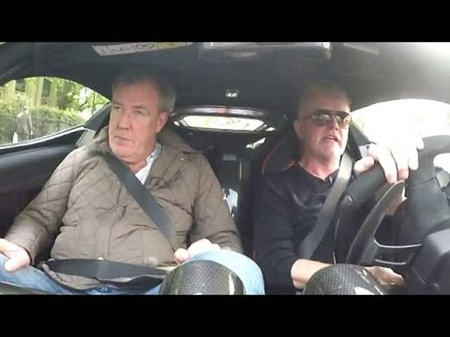 """Der alte und der neue Moderator von """"Top Gear"""" im Auto"""