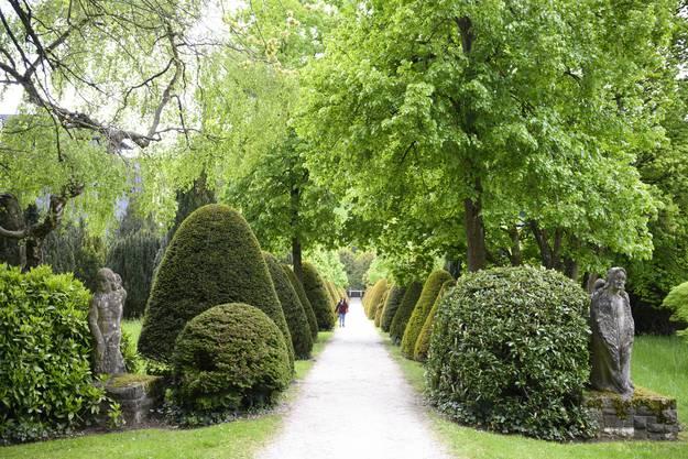 Der alte Friedhof zählt zu den meistbesuchten Parks der Stadt.